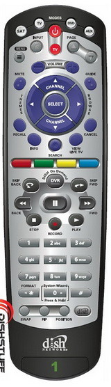 Dish Network DVR Learning Remote Control