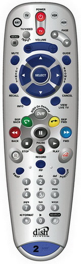 Dish Network DVR PVR Remote Control