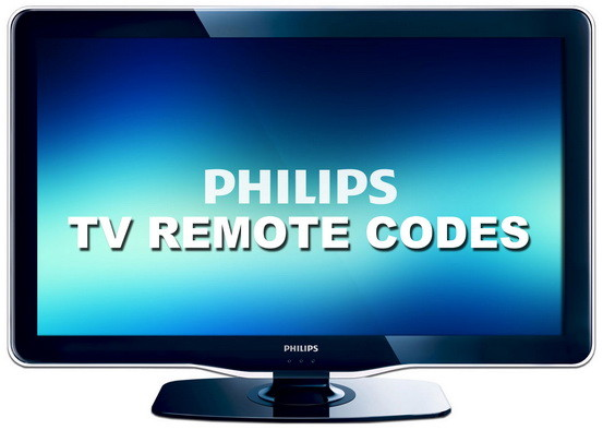 PHILIPS tv remote codes