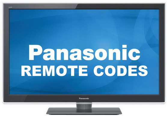 Topmoderne Remote Control Codes For Panasonic TVs | Codes For Universal Remotes VU-85