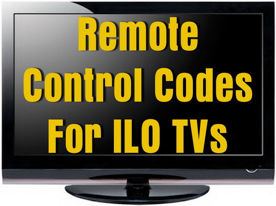 ILO TV Remote Codes