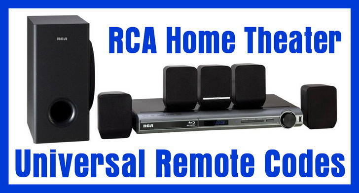 RCA home theater remote codes