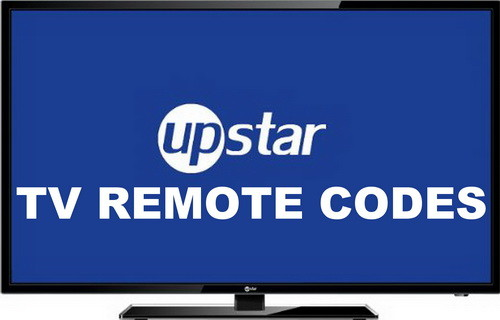 Upstar TV remote codes