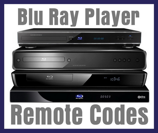 Blu Ray Player Remote Control Codes | Codes For Universal