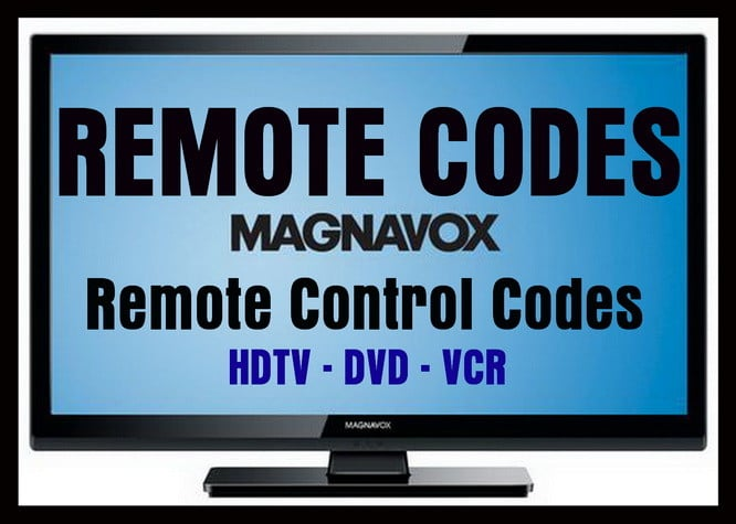 Remote Control Codes For Magnavox TVs | Codes For Universal