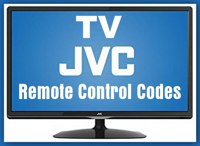 one for all codes for jvc tv