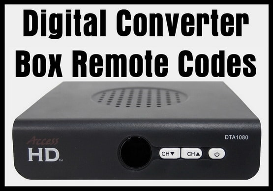 digital converter box remote codes codes for universal remotes rh codesforuniversalremotes com Digital TV Antenna Converter Box coby digital tv converter box manual