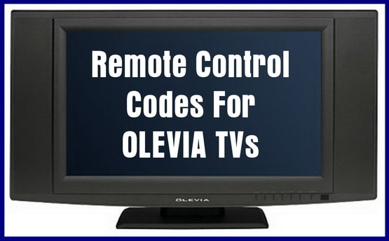 remote control codes for olevia tvs codes for universal remotes rh codesforuniversalremotes com