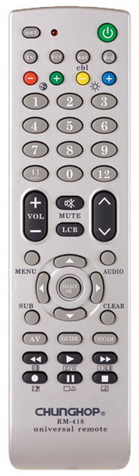 Chunghop universal remote RM418