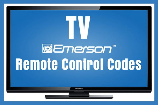 Remote Control Codes For Emerson TVs | Codes For Universal
