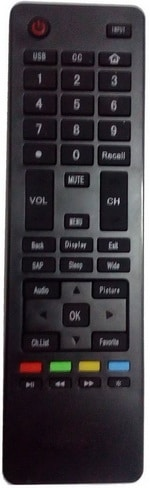 Haier OEM Replacement Remote Control for LCD LED TV