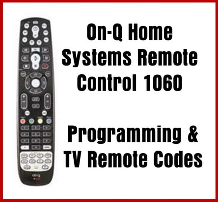 On-Q Home Systems Remote 1060