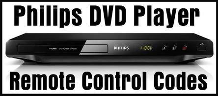 Philips DVD Player Remote Control Codes