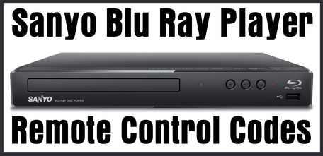 Sanyo Blu Ray Player Remote Control Codes