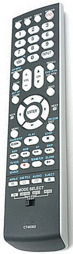 Toshiba Replacement Remote Control LCD HDTV