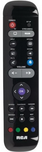 Universal Streaming Media Remote Control - RCA RCRST02GR
