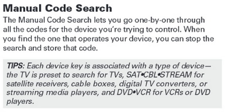 RCA 3 in 1 Universal Remote - Programming & Remote Codes For