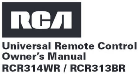 Rca rcr3273n 3 device universal remote with dvr functions for.