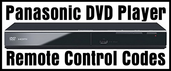Panasonic DVD Player Remote Control Codes | Codes For