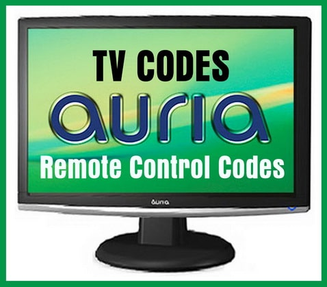 Remote Control Codes For Auria TVs