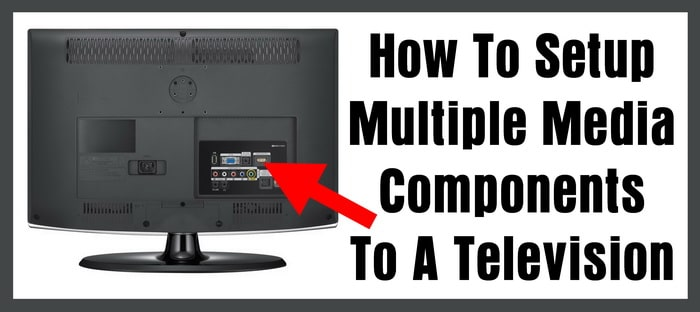 How To Setup Multiple Media Components To A Television
