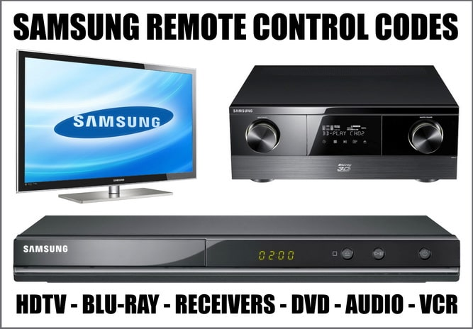 Samsung Remote Control Codes For All Devices | Codes For Universal