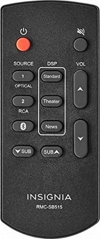 Insignia Soundbar Remote Control