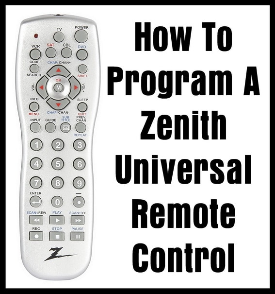 how to program a zenith universal remote control codes for rh codesforuniversalremotes com Mitsubishi HD 1080 Projection TV Toshiba TV Remote Codes List