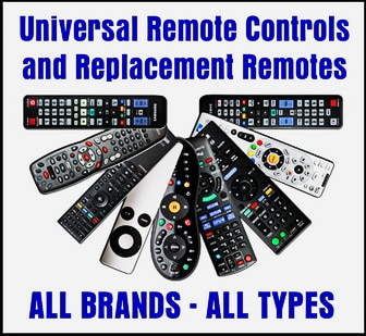 Universal Remote Controls - Replacement Remote Controls