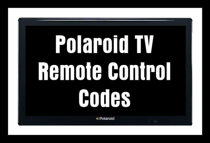 Polaroid TV Remote Control Codes