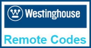 Westinghouse Products Remote Control Codes